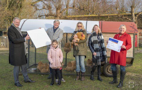 Duurzame infraroodverwarming voor kinderboerderij De Dierenhoeve
